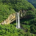 Caracol falls, near Canela, Rio Grande do Sul, Brazil.
