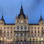Rathaus (City Hall) in Graz, Austria