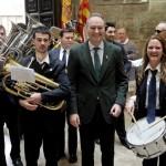 Valencia 17032013. Recepción fallas del barrio