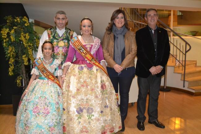 Candela Pastor preside la Gala Fallera Infantil 2015 de Denia (1)