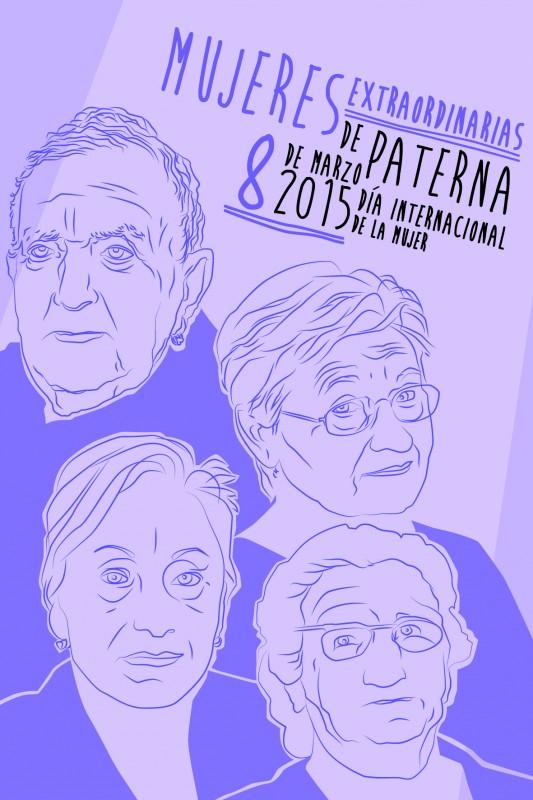 Cartel del Día de la Mujer de Paterna 2015