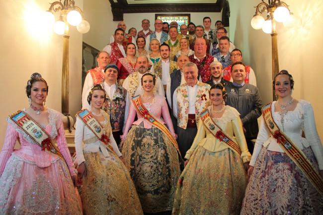Eila Colomar proclama el inicio de las Fallas 2015 (1)