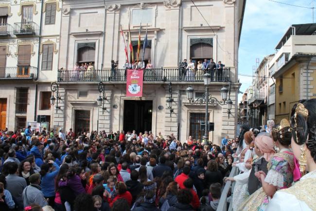 Eila Colomar proclama el inicio de las Fallas 2015 (3)