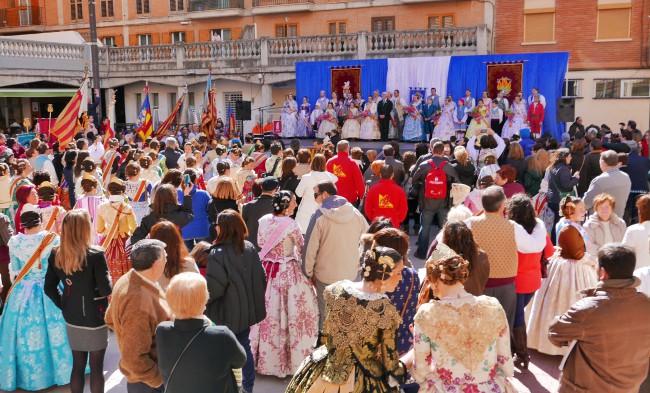 La Crida marca el inicio de las Fallas 2015 en Alboraya (2)