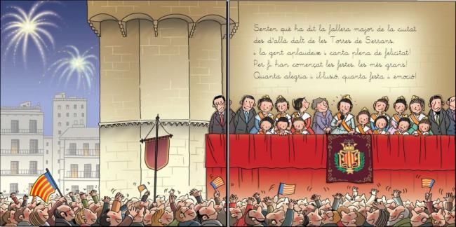 Literatura Infantil i Juvenil  LES FALLES de Carles Cano (2)