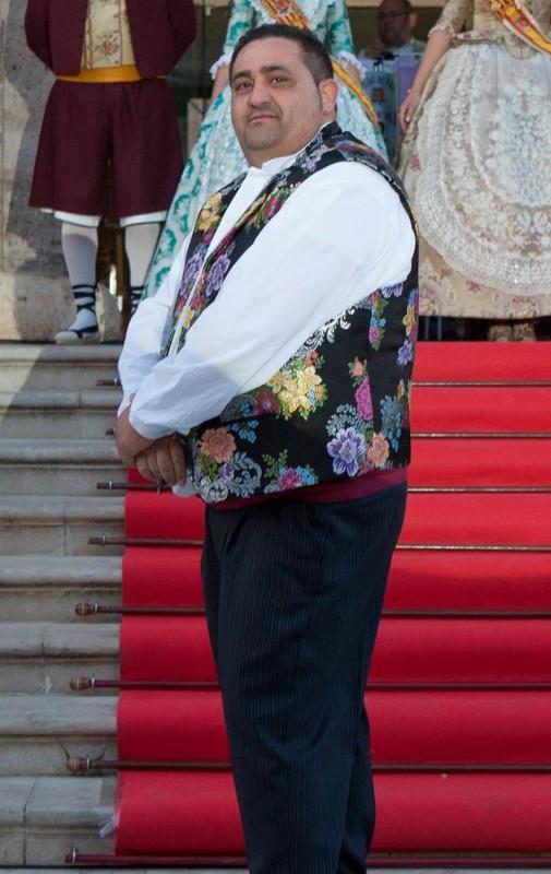 Francisco Arjona Molina (Cisco) President A.C.Falla Vte. Mortes i Adjts 2016