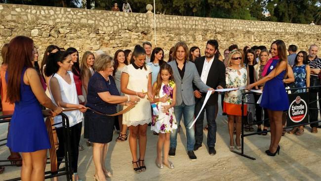Las Falleras Mayores de Valencia 2015, Estefanía y María inauguran la XI Concurso de Tiro y Arrastre
