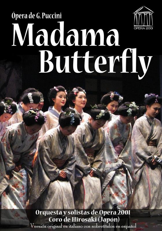 Cartel Madama Butterfly 2015