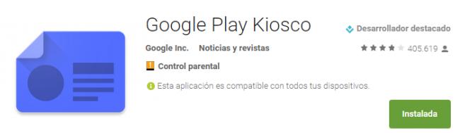 Google Play Kiosco Aplicaciones de Android en Google Play