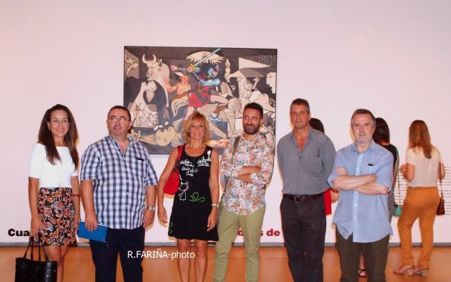 Las candidatas a Cortes y Fallera mayor de Valencia vistan el IVAM (12)
