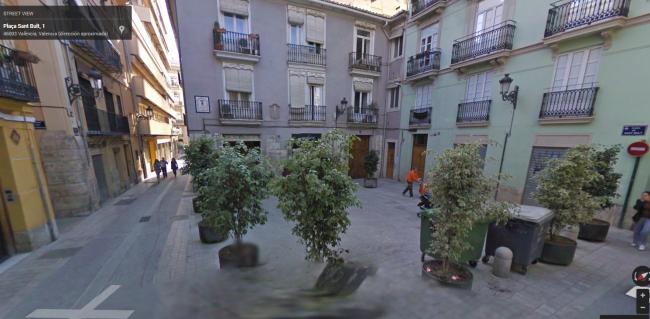 Plaza streetview