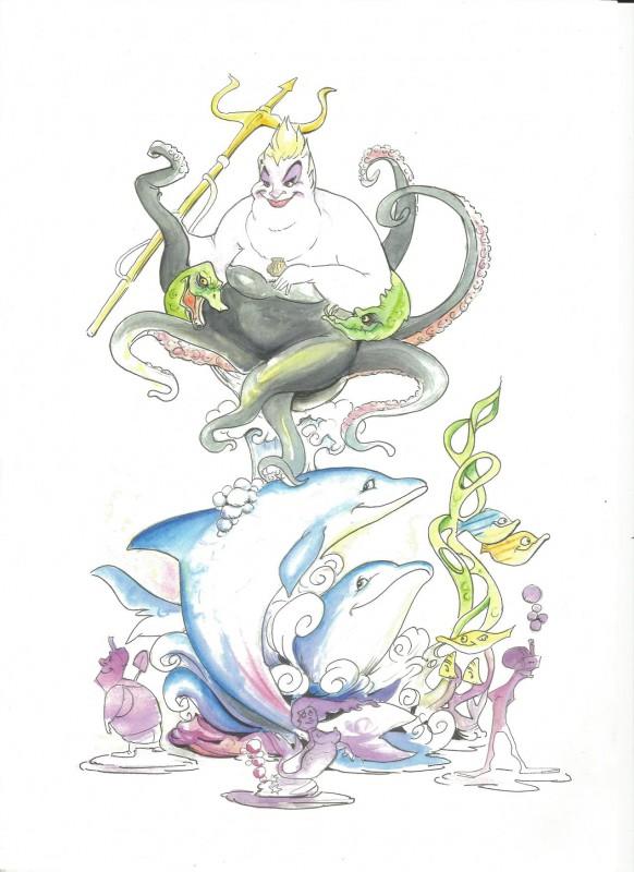 falla A fer la mar ARTISTA David Zahonero del Fresno y Francisco Cuadros