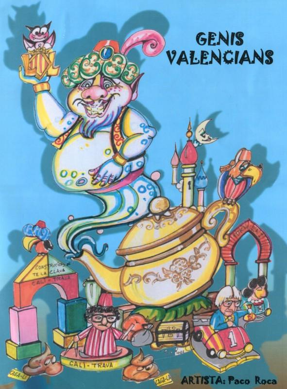 genis valencians FG ARTISTA artista paco roca