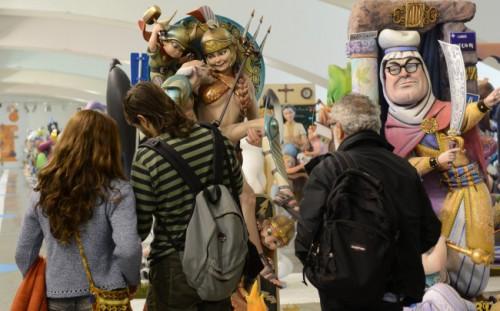 Más de 5.000 personas visitan la 'Exposició del Ninot' en el Museu de les Ciències durante el primer fin de semana