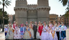 Las Fallas de Alboraya, preparadas para el inicio de la gran fiesta fallera